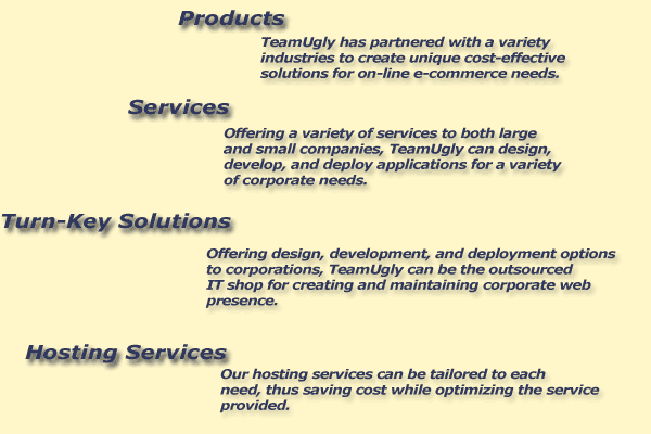 Web Design, Web Development, Web Deployment
